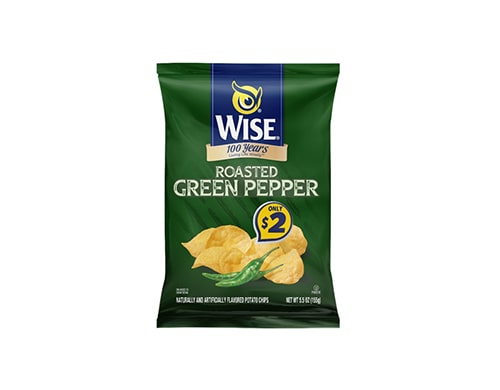 Value Size Roasted Green Pepper Potato Chips