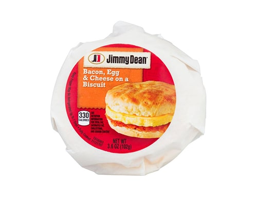 Jimmy Dean Bacon, Egg & Cheese Biscuit
