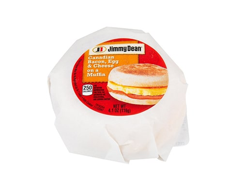 Jimmy Dean Canadian Bacon, Egg & Cheese Muffin