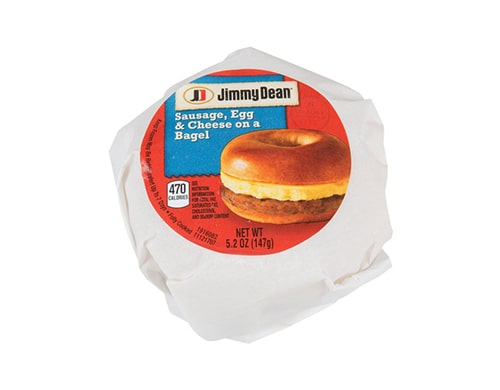 Jimmy Dean Sausage, Egg & Cheese Bagel