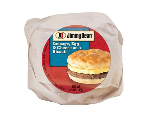 Jimmy Dean Sausage, Egg & Cheese Biscuit