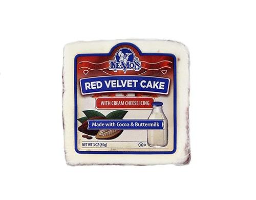 Ne-Mo's Iced Red Velvet Cake Squares